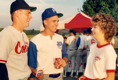 Coke and Pepsi-represent Johnstown in the 1989-1889 Flood Centennial AAABA Tournament