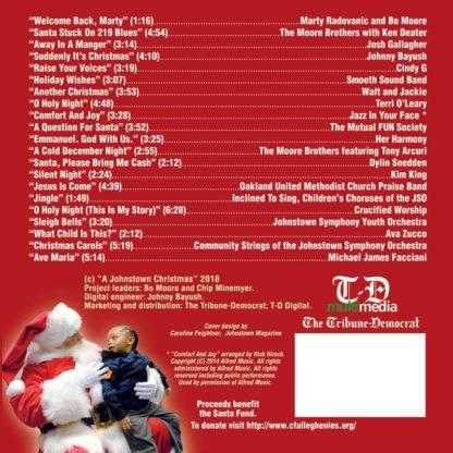 A Johnstown Christmas Volume II back